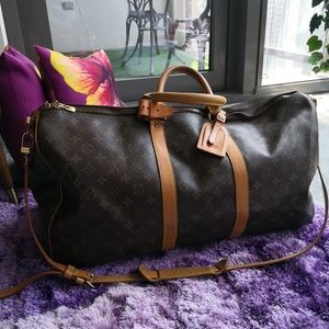 SOLD Louis Vuitton Keepall Bandouliere 55